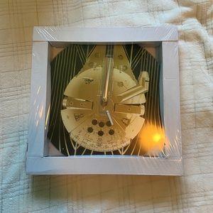 Star Wars Millennium Falcon Clock
